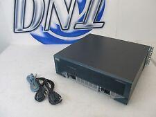 Cisco CISCO3845 Dual PWR-3845-AC 3800 Series Router GE LAN NME HWIC SFP PVDM CTC