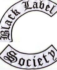 BLACK LABEL SOCIETY BLS IRON-ON NEW ZAKK WYLDE ROCKER PATCH SET for JACKET BACK