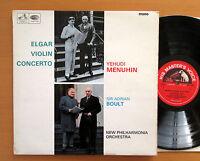 ALP 2259 Elgar Violin Concerto Yehudi Menuhin Adrian Boult 1966 HMV Mono EX/EX
