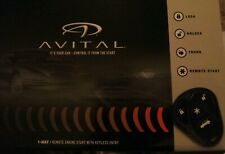 Avital 4105L Remote Start Keyless Entry 1500 Ft Two 4-Button Remotes D2D New
