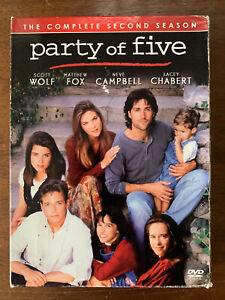 Party of Five Second Season DVD Box Set 5 US Drama TV Series Region 1