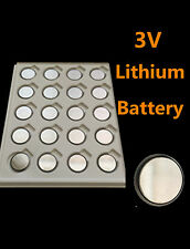 20 piece CR2450 2450 DL2450 LM2450 L2450 Coin 3V Bulk Lithium battery GO