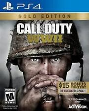 Call of Duty Gold Edition Sony PlayStation 4 PS4 NEW factory sealed