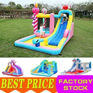 2021 Kid Inflatable Pool Water Slide Bounce House Combo Bouncy Castle with Slide