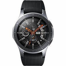 "Samsung Galaxy Watch 46mm 1.3"" AMOLED Screen Bluetooth WiFi NFC Silver Smart"