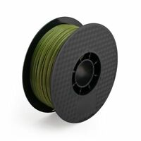 Army Green 3D Printer Filament 1kg/2.2lb 1.75mm PLA MakerBot RepRap