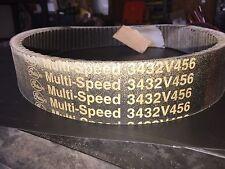 Gates Multi-speed 3432v456 Belt