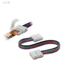 10x Verbindungskabel 15cm RGB SMD LED Stripe Streifen Verbinder Schnellverbinder