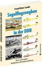 Segelflugzeugbau in der DDR Ideen Projekte Nachbauten Segelflieger Buch GST