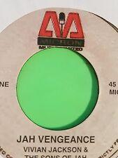 MICRON RECORDS JAH VENGEANCE VIVIAN JACKSON 45