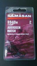 KAMASAN B940m Aberdeen Match Hooks - All Sizes 2/0