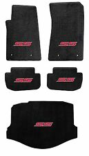 NEW! BLACK FLOOR MAT 2014-2018 SS Sedan Embroidered SS Logo in Red set of 5 Mats