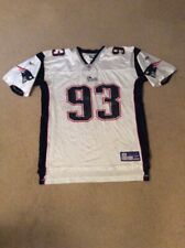 New England Patriots #93 Richard Seymour Reebok Jersey Shirt Men's Adult Large L