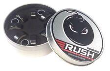 Rush Bombers (Tins) Titanium Coated Skateboard Bearings w/ Spacers