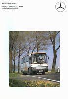 0698MB Mercedes O 303 10/13 RHS Club-Omnibusse Prospekt 1985 12/85 brochure Bus
