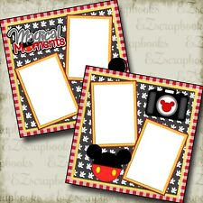 Magical Moments - 2 Premade Scrapbook Pages - Ez Layout 2120