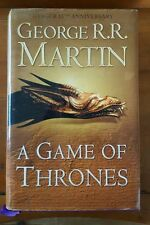 RARE - A Game of Thrones - Book One, Viking 1st Ed 1995 with 15-Year Ann. Jacket