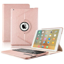 """360° Rotating Leather Folio Keyboard Case Cover for iPad 5 &6 GEN 9.7"""" 2018 2017"""