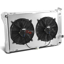 3-ROW FULL ALUMINUM RADIATOR+12V FAN SHROUD FOR 82-92 CAMARO/FIREBIRD/TANS AM V8