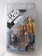 STAR WARS CELEBRATION IV MCQUARRIE CONCEPT R2-D2 C-3PO ACTION FIGURE NRFB