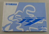 Owners Guide Proprietaire Yamaha R1 Type YZF-R1 From 09/2006