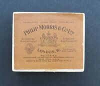 Boite publicitaire Cigarettes Philip Morris & Co London old box