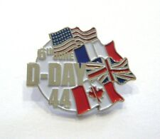 D.DAY FLAGS (Badge émail / Pins)