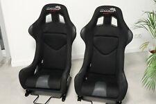 BMW Motorsport Bucket Seats Carbon Glass Fiber Seats Cobra Susuka Pro Recaro