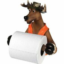 Rivers Edge Products Deer Toilet Paper Holder Hunting Lodge Rustic Buck Bathroom