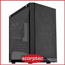 SilverStone Precision PS15 Black Micro ATX Case, T/G Window, No PSU