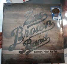 ZAC BROWN BAND GREATEST HITS SO FAR Limited Edition 2 LP RARE Walnut Brown Vinyl