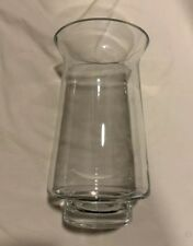 Pier 1 Clear Glass 12� T X 6� W Candlw Holder