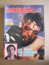 INTREPIDO n°12 1981 Inserto Giro D' Italia - Robert De Niro Jack La Motta [G493]