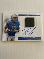2017 National Treasures Kenny Golladay Rookie Patch Auto Autograph RC #3/25 RPA