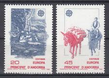 Briefmarken Europa Andorra (sp.. Post) CEPT ** 1988 Michel 200-201 Versand 0 EUR