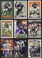 ALONZO MAYES Chicago Bears 1998 Coll. Choice SIGNED / AUTOGRAPH Football Card