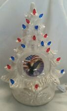 Christmas Tree Vintage  Mold.. Made New  USA Decal Tree /Bulbs/light made in USA