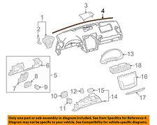 55355-30060 Toyota Cushion, instrument panel, no.1 5535530060, New Genuine OEM P