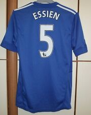 Chelsea 2009 - 2010 Home football shirt jersey Adidas size S #5 Essien