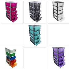 5 level Plastic Office Drawer Colour Box Beauty Salon Waxing Storage