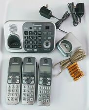 Panasonic KX-TG7743S Cordless Phone w/ Answering, 3 handsets, Bluetooth DECT 6.0