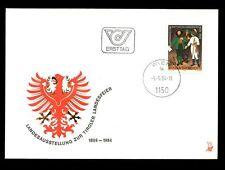 Austria 1984 Jubilee Of Tyrol Province FDC #C2929