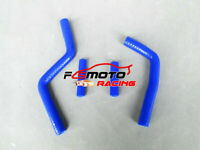 Silicone radiator hose FOR YAMAHA YZ125 YZ 125 2003-2008 2004 2005 2006 07 BLUE