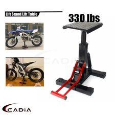 Motorcycle Lift Table 330lbs Repair Jack Stand Tool Stool Mx Off Road Dirt Bike