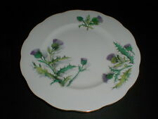 Roslyn English Bone China Thistle Queen O'Th' Highlands Salad Plate/s (loc-B11)