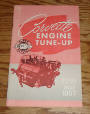 1956 - 1957 Chevrolet Corvette Engine Tune-Up Manual 56 57 Chevy