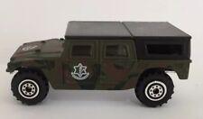"welly 1:60 1:64 Israel Defense Forces IDF צה""ל Hummer H1 Diecast car RARE hebrew"