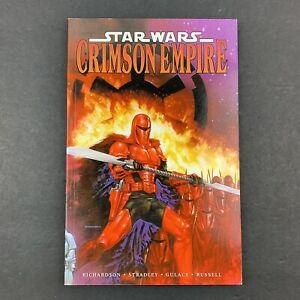 Star Wars Crimson Empire TPB Paperback Graphic Novel Book - Dark Horse Books