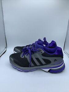 Adidas supernova glide 5 women running shoes size 5 Wide Black/Purple