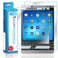 2x iLLumi AquaShield Front + Back Panel Protector for Blackberry Passport